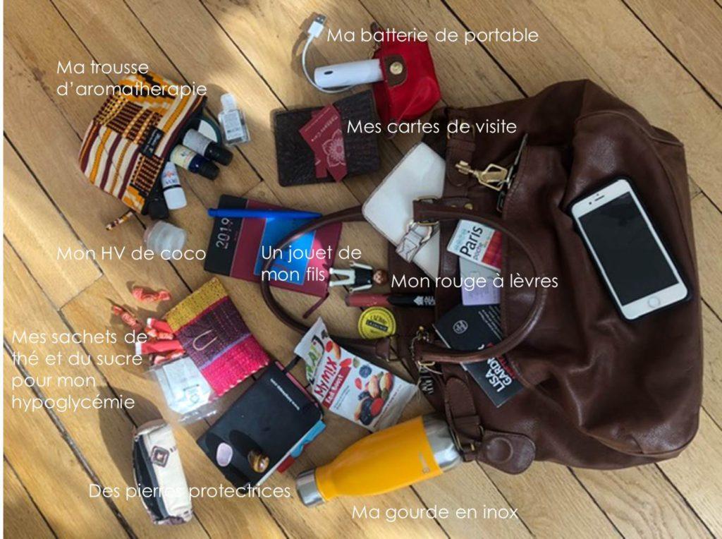 Dans le sac de Sandrine (© Sandrine Lecointe) la marque de cosmétiques naturels Madagas'Care
